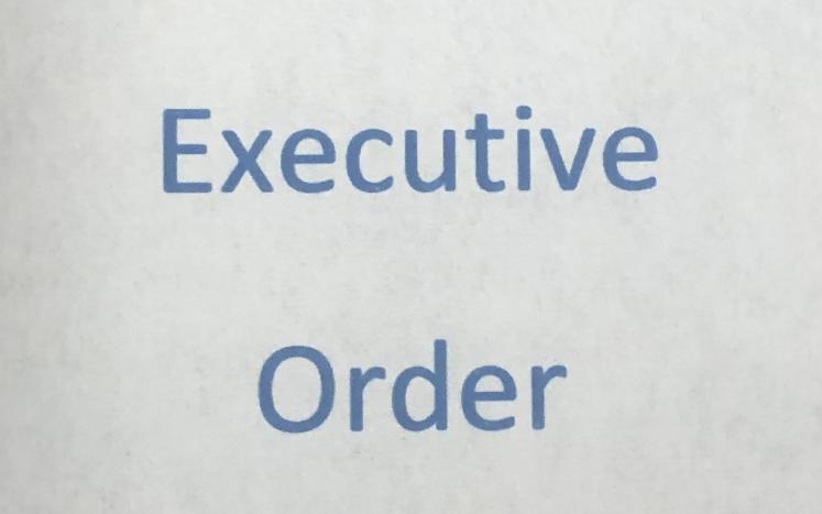 Town of North Smithfield Executive Order regarding motor vehicle taxes