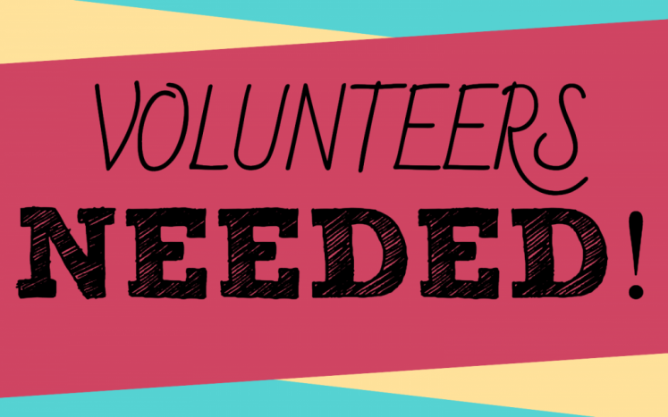 Please fill out the ap-plication if you are interested in volunteering